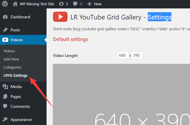 Youtube Gallery Popup Plugin For Wordpress | WP Missing