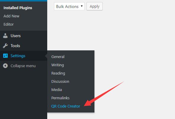Easy QR Code Generator For Wordpress | WP Missing