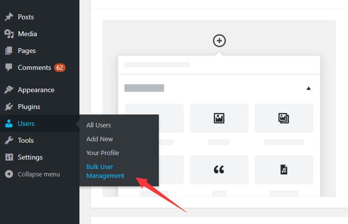 Bulk Import/Export/Delete Users In Wordpress - Bulk User