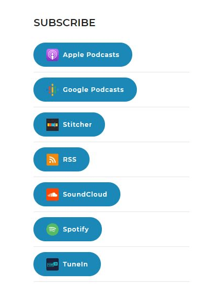 Custom Subscribe Buttons For Podcasts | WP Missing